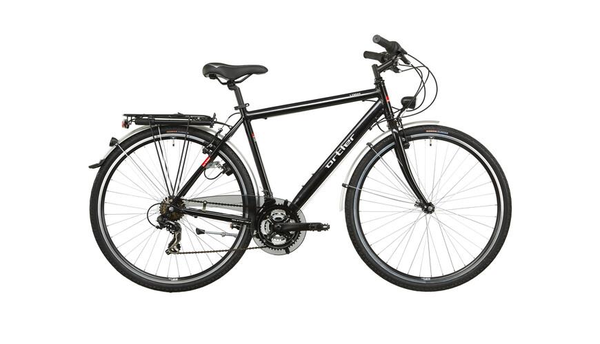 Ortler Lindau - Vélo de trekking Homme - noir